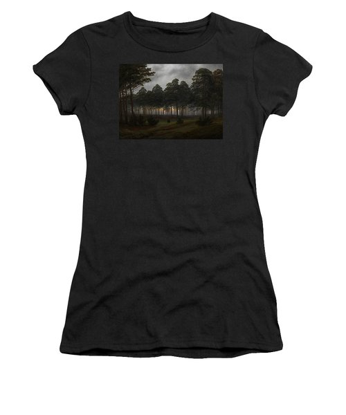 The Times Of Day - The Evening Women's T-Shirt