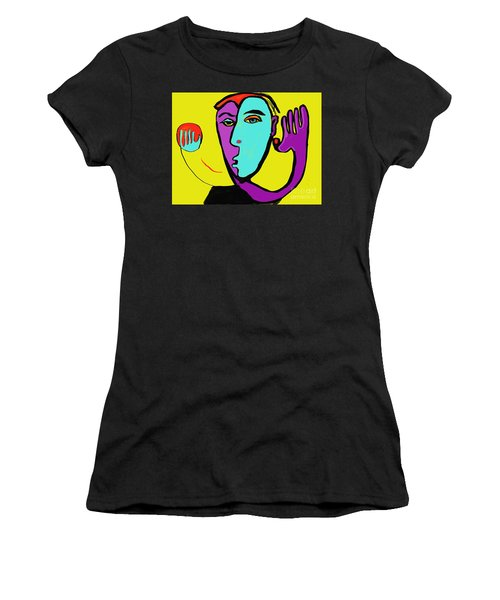 The Toss Women's T-Shirt (Athletic Fit)