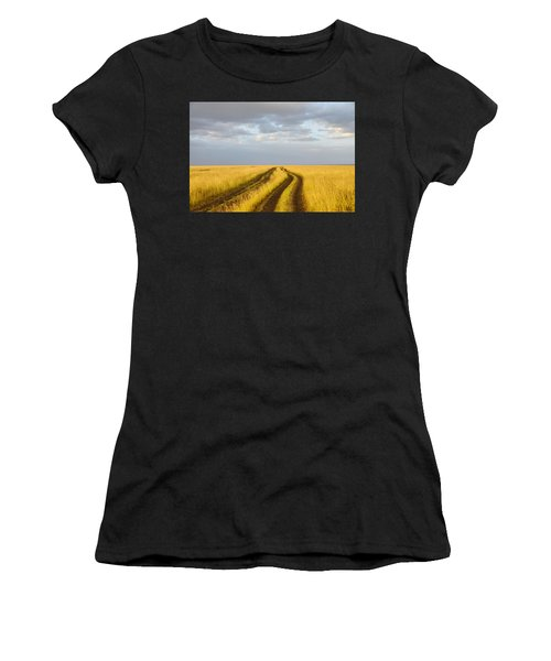 The Trail Women's T-Shirt (Athletic Fit)