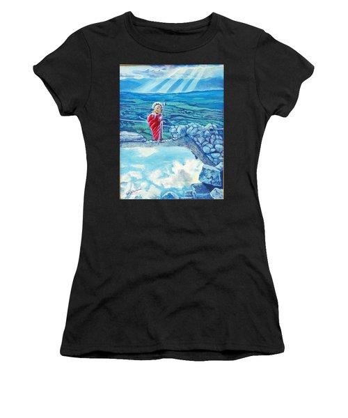 The Transcending Spartan Soldier Women's T-Shirt (Athletic Fit)