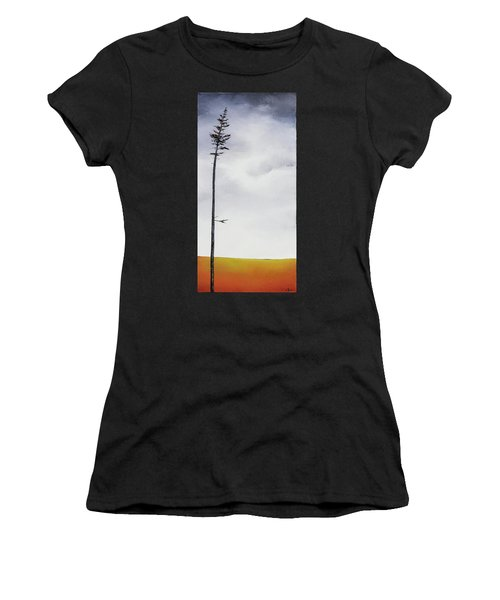 The Trees Are So Tall Here  II     Women's T-Shirt (Athletic Fit)