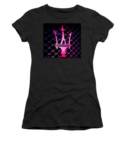 the Trident Women's T-Shirt (Junior Cut) by George Pedro