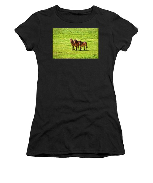 The Trio 1 Women's T-Shirt (Athletic Fit)