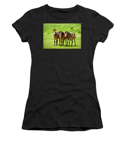 The Trio 3 Women's T-Shirt (Athletic Fit)