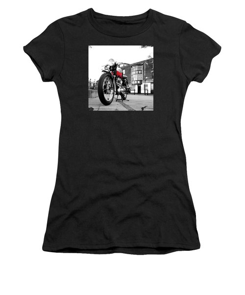 The Trophy Tr5 Motorcycle Women's T-Shirt (Athletic Fit)