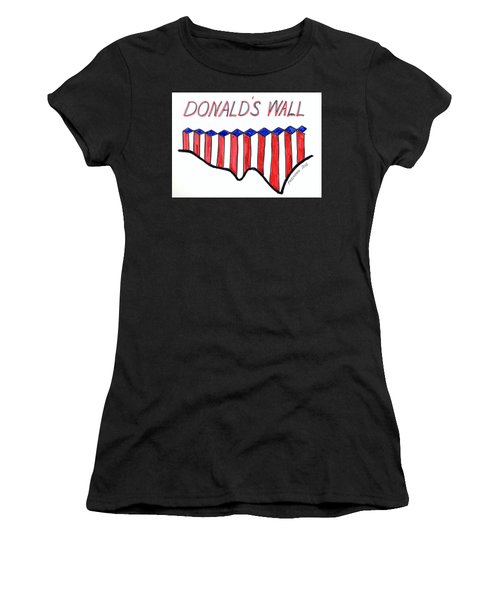 The Trump Women's T-Shirt (Athletic Fit)