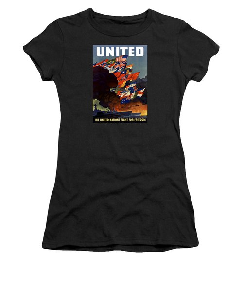 The United Nations Fight For Freedom Women's T-Shirt