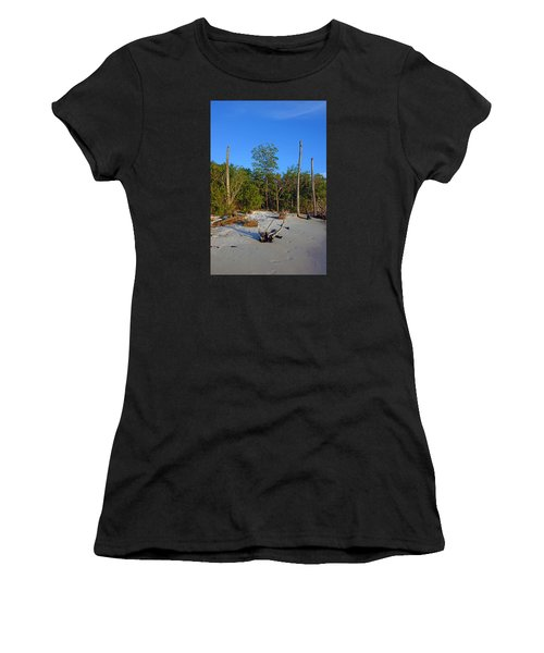 The Unspoiled Beauty Of Barefoot Beach In Naples - Portrait Women's T-Shirt
