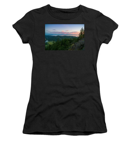 The View From Mt Erie Women's T-Shirt (Athletic Fit)