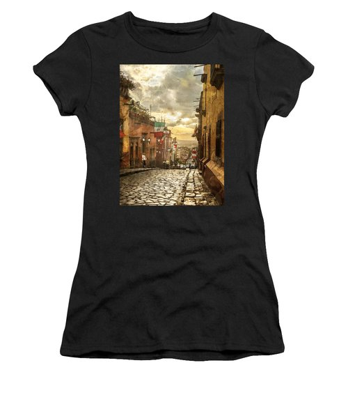 The View Looking Down Women's T-Shirt