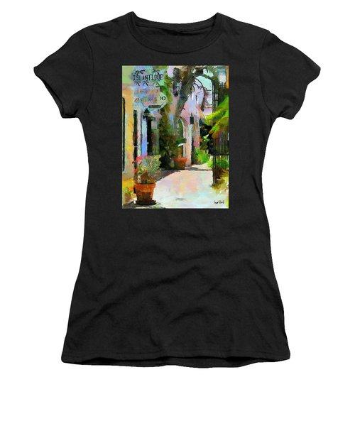The Villa Women's T-Shirt (Junior Cut) by Wayne Pascall