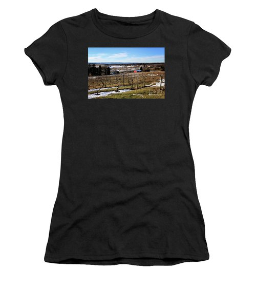 The Vineyard On Old Mission Women's T-Shirt