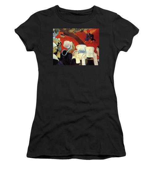 The Vision After The Sermon Jacob Wrestling With The Angel 1888 Women's T-Shirt (Athletic Fit)