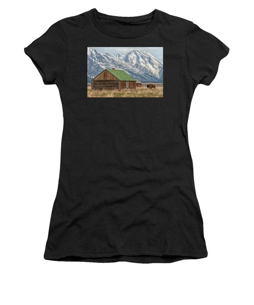 The Visitor Women's T-Shirt (Athletic Fit)
