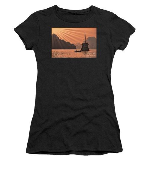The Voyage Ha Long Bay Vietnam  Women's T-Shirt
