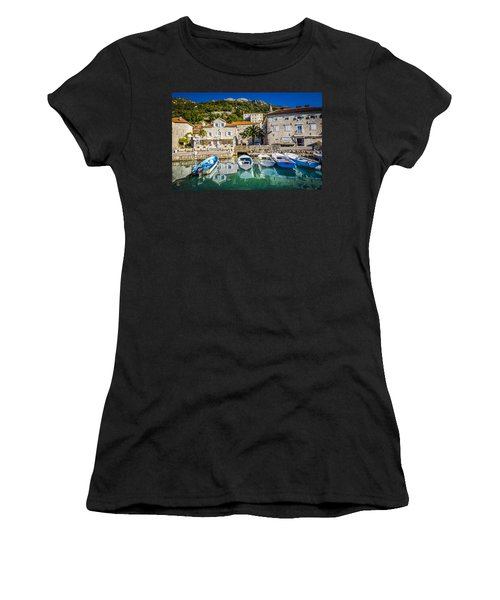 The Waiting Boats Women's T-Shirt