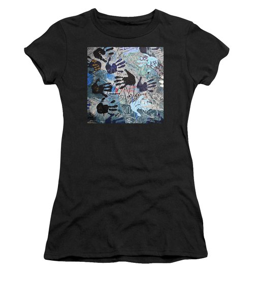 The Wall 34 Women's T-Shirt (Athletic Fit)