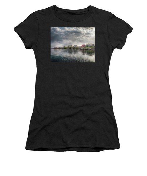 Monhegan Harbor View Women's T-Shirt