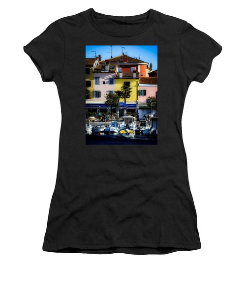 The Watercolors In Split Women's T-Shirt