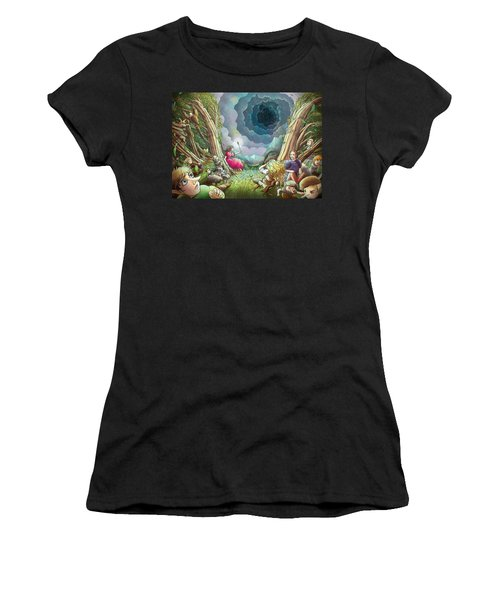 The Wave Of Space And Time Women's T-Shirt (Athletic Fit)
