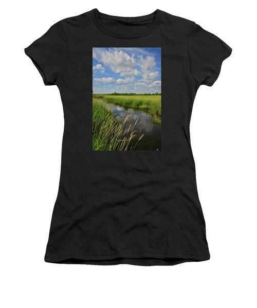 The Wetlands Of Hackmatack National Wildlife Refuge Women's T-Shirt (Athletic Fit)
