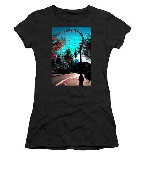 The Wheel Blue Women's T-Shirt