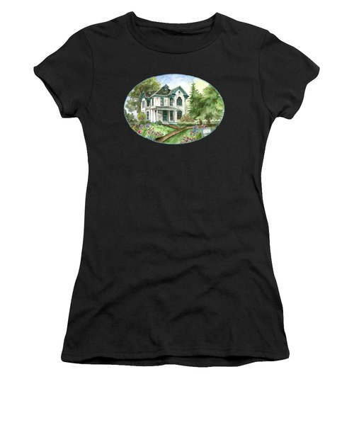 The White Farmhouse Women's T-Shirt (Athletic Fit)
