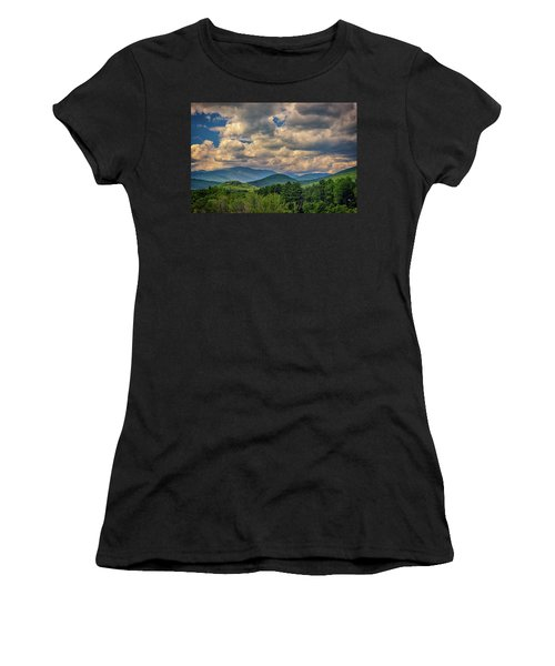 Women's T-Shirt (Athletic Fit) featuring the photograph The White Mountains by Rick Berk