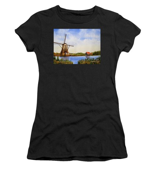 The Windmill Women's T-Shirt (Athletic Fit)