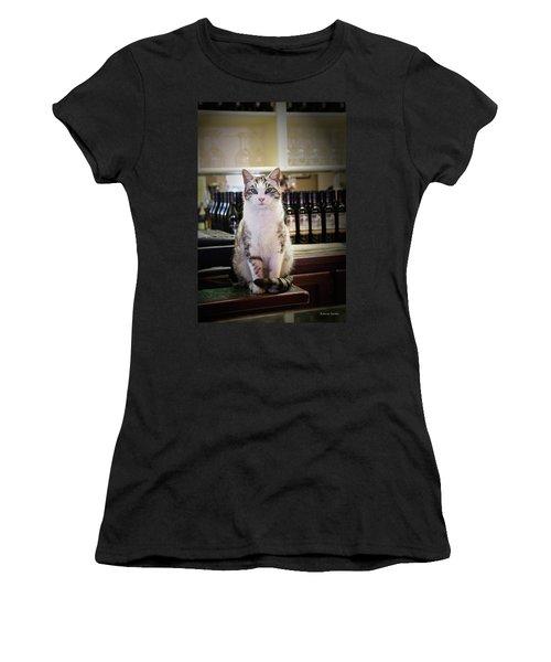 The Winery Cat Women's T-Shirt
