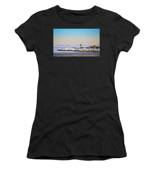 The Winter Heron Women's T-Shirt