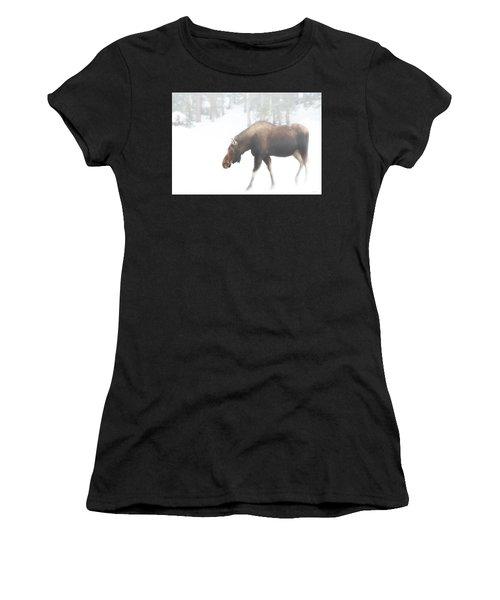 The Winter Moose Women's T-Shirt