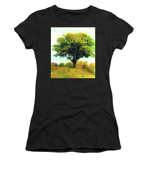 The Witness Tree Women's T-Shirt (Athletic Fit)