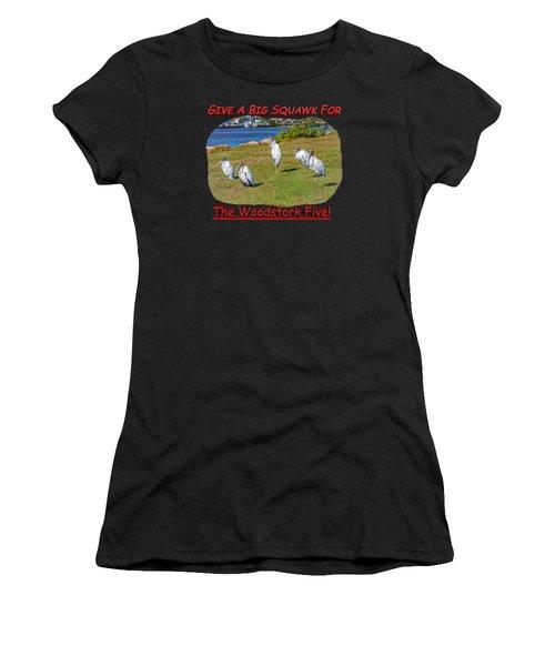 The Woodstork Five Women's T-Shirt