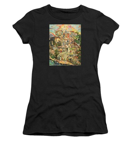 The Works Of Mercy Women's T-Shirt (Athletic Fit)