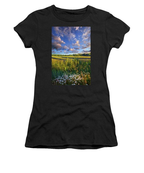 The World Is Quiet Here Women's T-Shirt