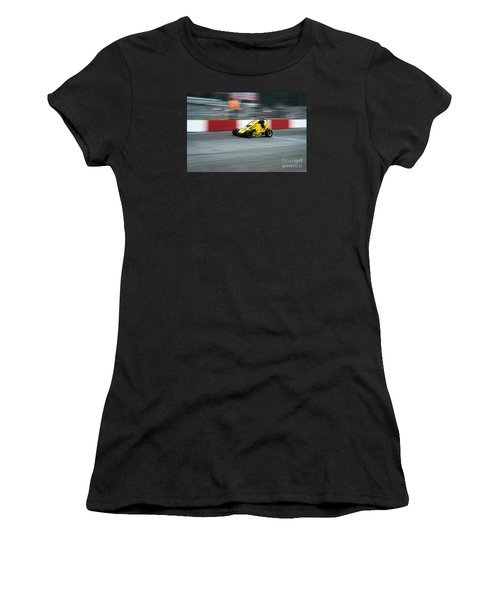 The Yellow Mini Women's T-Shirt (Athletic Fit)