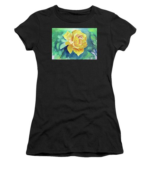 The Yellow Rose Women's T-Shirt (Athletic Fit)