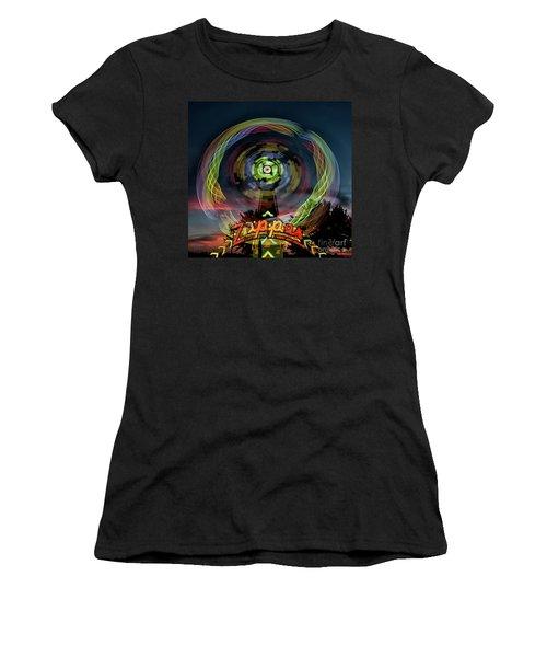 The Zipper Motion Art By Kaylyn Franks Women's T-Shirt