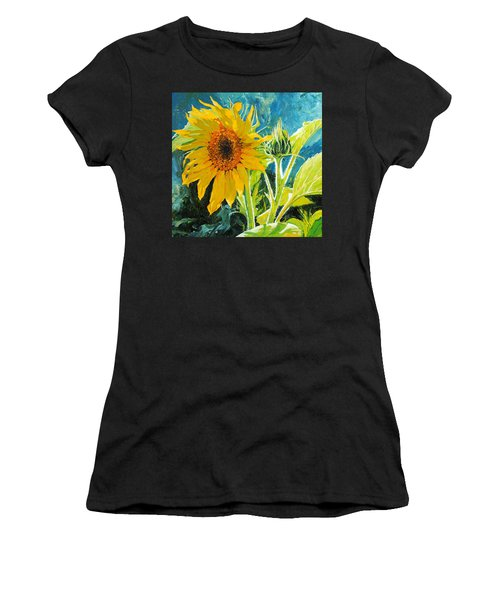 There's A New Bud In Town Women's T-Shirt (Athletic Fit)
