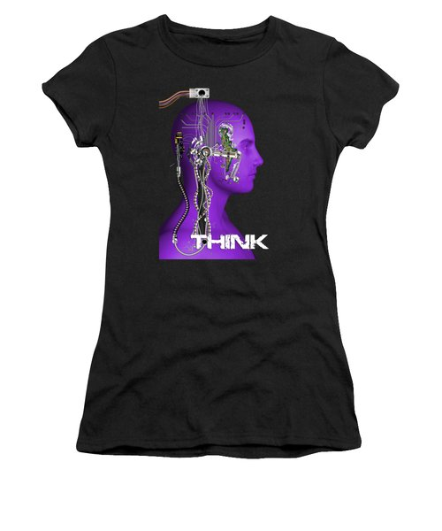 Think Women's T-Shirt (Athletic Fit)
