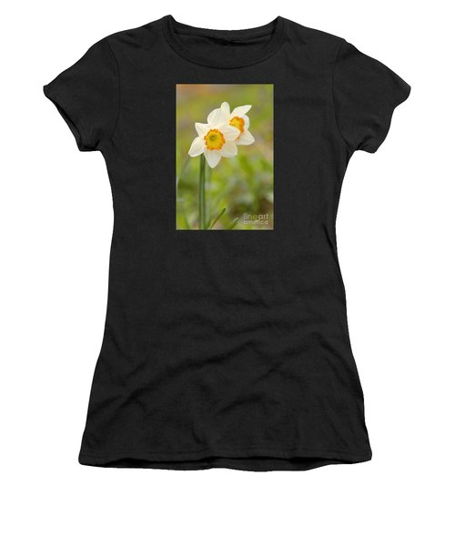 Thinking About Spring Women's T-Shirt (Athletic Fit)