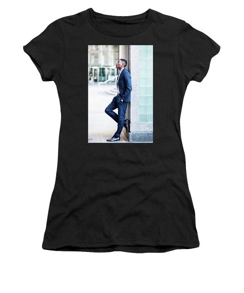 Thinking Outside Women's T-Shirt (Athletic Fit)