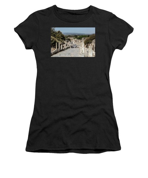 This Is Ephesus Women's T-Shirt (Junior Cut) by Kathy McClure