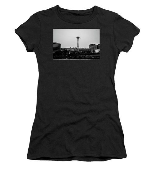This Is Seattle Black And White Women's T-Shirt