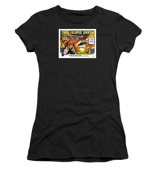 This Island Earth Science Fiction Classic Movie Women's T-Shirt