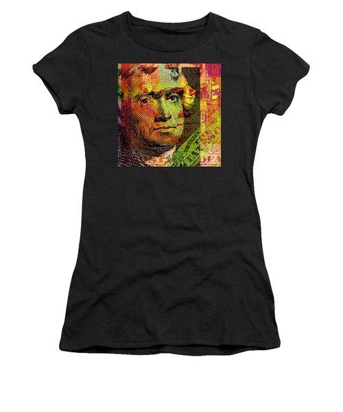 Thomas Jefferson - $2 Bill Women's T-Shirt