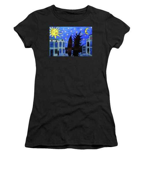 Those Romantic Nights Women's T-Shirt (Athletic Fit)