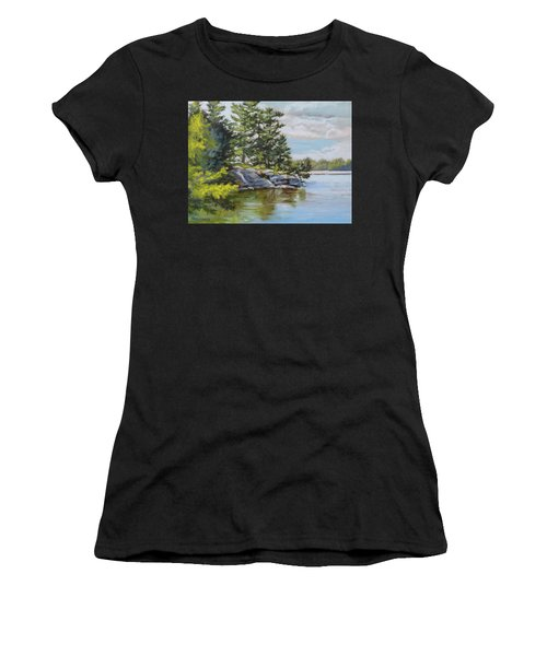 Thousand Islands Women's T-Shirt (Athletic Fit)