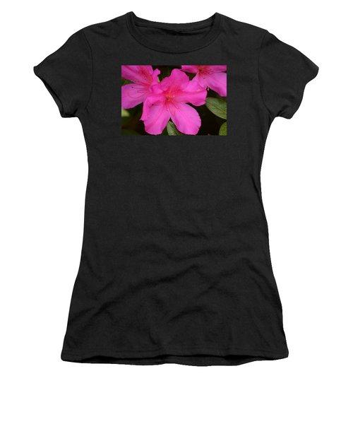 Three Azaleas Women's T-Shirt (Junior Cut) by Warren Thompson
